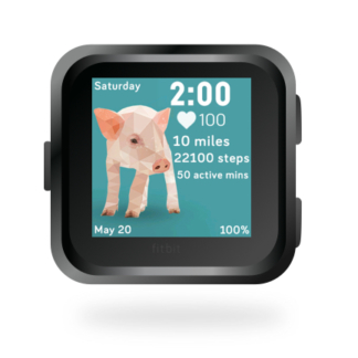 fitbit-versa-ionic-animal-clock-faces-dianas-animals-432x432-pig