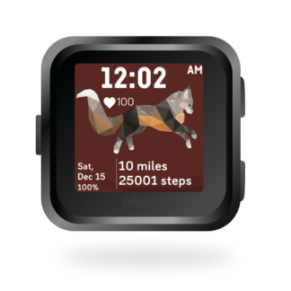 fitbit-versa-animal-clock-faces-dianas-animals-432x432-flying-cross-fox
