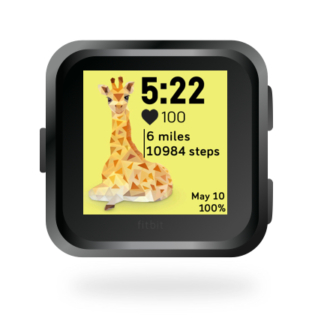 fitbit-versa-ionic-animal-clock-faces-dianas-animals-432x432-giraffe copy