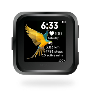 fitbit-versa-ionic-animal-clock-faces-dianas-animals-432x432-macaw-bird