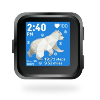fitbit-versa-ionic-animal-clock-faces-dianas-animals-basset-432x432-polar-bear