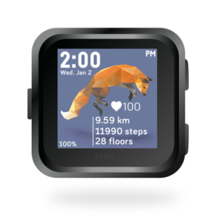 fitbit-versa-ionic-animal-clock-faces-dianas-animals-432x432-flying-fox