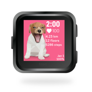 fitbit-versa-ionic-animal-clock-faces-dianas-animals-432x432-jack-russell-dog