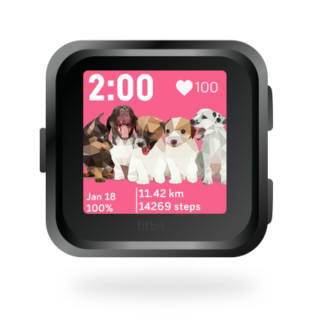 fitbit-versa-ionic-animal-clock-faces-dianas-animals-432x432-puppy-puppies