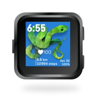 fitbit-versa-ionic-animal-clock-faces-dianas-animals-432x432-snake