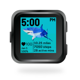 fitbit-versa-ionic-animal-clock-faces-dianas-animals-432x432-shark